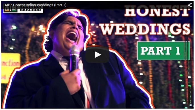 honest postmortem of indian weddings by aib